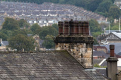 Lancaster, northern town stock photography