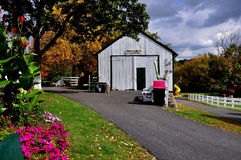Lancaster, PA: Amish Farm and House Museum Stock Photos