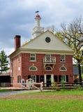 Lancaster, PA: Besucher-Mitte an Landis-Museum Lizenzfreie Stockbilder