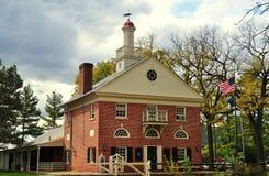 Lancaster, PA: Centro del visitante en el museo de Landis Foto de archivo