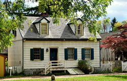 Lancaster, PA: Erisman House at Landis Museum. Lancaster, Pennsylvania:  C. 1820's Erisman House at the Landis Valley Village and Farm Museum Royalty Free Stock Image