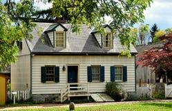 Lancaster PA: Erisman hus på det Landis museet Royaltyfri Bild