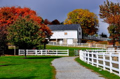 Lancaster, PA: Exploração agrícola de Amish e museu da casa foto de stock royalty free