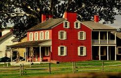 Lancaster, PA : Hôtel de Chambre de vallée de Landis Photo libre de droits