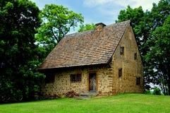 Lancaster, PA: 1719 Hans Herr House Stock Image