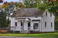 Lancaster, PA: Het Huis van de koster bij Landis-Museum Royalty-vrije Stock Foto