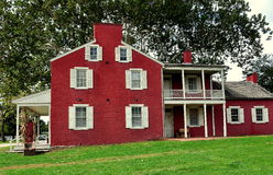 Lancaster, PA: Hotel de la casa del valle de Landis Fotografía de archivo libre de regalías