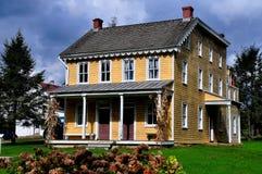 Lancaster, PA: Isaac Landis dom Fotografia Royalty Free