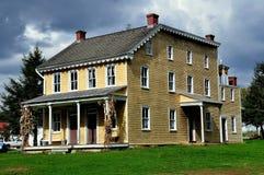 Lancaster, PA: isaac Landis House at Landis Museum Royalty Free Stock Images