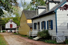 Lancaster, PA: Landis Museum Buildings Stock Photo