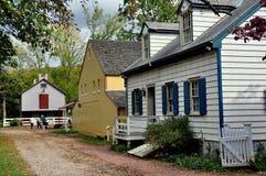 Lancaster PA: Landis museumbyggnader Arkivfoto