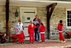 Lancaster, PA: Students at Landis Museum Royalty Free Stock Image