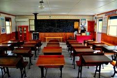 Lancaster, PA: Uma escola de Amish da sala fotos de stock royalty free