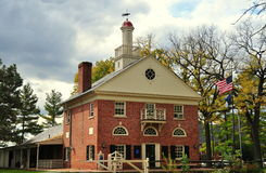Lancaster, PA: Visitor Center at Landis Museum Stock Photo