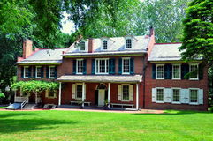 Lancaster, PA: Wheatland de James Buchanan Imagenes de archivo