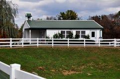 Lancaster, PA: Wierzbowy Jeden pasa ruchu Izbowy budynek szkoły Obrazy Royalty Free