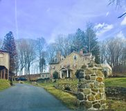 Lancaster  Pennsylvania. Country Side Beauty Stock Photography