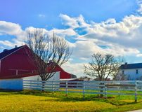 Lancaster  Pennsylvania. Country Side Beauty Stock Image