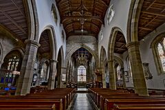 Lancaster Priory Stock Photography