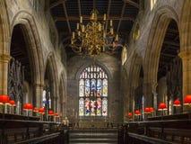 Lancaster Priory - Lancaster - England Stock Photo