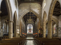 Lancaster Priory - Lancaster - England Stock Image
