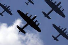 Lancaster Raid Royalty Free Stock Image