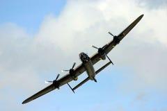 Lancaster schiet voorbij royalty-vrije stock afbeeldingen