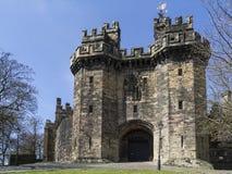 Lancaster slott - Lancaster - England Arkivfoton
