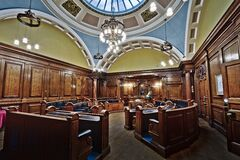 Lancaster Town Hall Chambers Royalty Free Stock Image