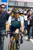 Lance Armstrong at the 100° Giro d'Italia Royalty Free Stock Photography