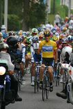 Lance Armstrong. Winner seven times of the tour of cycle France 2005 stock photography