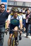 Lance Armstrong en el d'Italia del giro 100° Fotografía de archivo libre de regalías