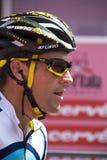 Lance Armstrong en el d'Italia del giro 100° Imagenes de archivo