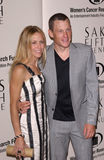 Lance Armstrong,Sheryl Crow. SHERYL CROW & LANCE ARMSTRONG at the Saks Fifth Avenue's Unforgettable Evening at the Regent Beverly Wilshire Hotel to benefit the Stock Photography