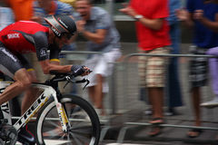 Lance armstrong in sprint Royalty Free Stock Photo