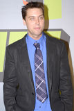 Lance Bass on the red carpet Royalty Free Stock Photos