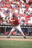 Lance Berkman. Of the Houston Astros at the plate ready to hit Royalty Free Stock Image
