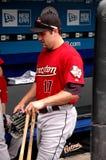 Lance Berkman Houston Astros. Former Houston Astros OF Lance Berkman #17 Royalty Free Stock Photos