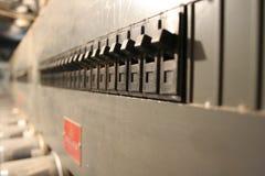 Lance el interruptor Fotografía de archivo libre de regalías