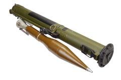 Lance-grenades à fusée propulsée antichar avec la grenade de la CHALEUR Photo stock