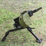 Lance-grenades automatique avec la profondeur du champ Photographie stock libre de droits