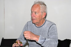 Lance henriksen. SCI-FI Conventioni Gothenburg 2012th Royalty Free Stock Images