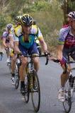 Lance hill climb Stock Image
