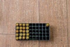 Lance l'emballage de munitions Photo stock