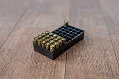 Lance l'emballage de munitions Image libre de droits
