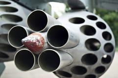 Lance-missiles de feu d'enfer Photo stock