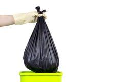 Lance no lixo Fotografia de Stock