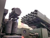Lance-roquettes d'air Photos stock
