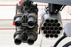 Lance-roquettes de vue arrière Image libre de droits