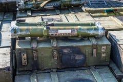 Lance-roquettes portatifs RPO-A Photo stock